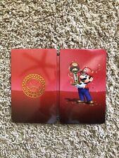 NO GAME - Mario Kart 8 Deluxe Steelbook Nintendo Switch Steel Book CASE ONLY!!