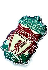 Liverpool Pin Badge Retro Club Crested Official Football Club Gifts