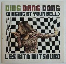 LES RITA MITSOUKO : DING DANG DONG (RINGING AT YOUR BELL) ♦ CD SINGLE PROMO ♦