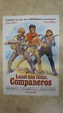 original A1 Kinoplakat Filmplakat Lasst uns töten Companeros (P13)
