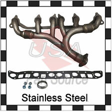 Exhaust Manifold Jeep Cherokee Comanche Wrangler 1991-1999 Stainless Steel NEW