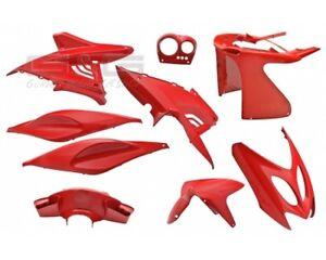 Verkleidungsset Verkleidung 9 Verkleidungsteile Rot für Yamaha Aerox MBK Nitro