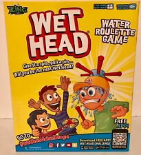 Wet Head Water Roulette Game  Take your chances and get WET N' WILD  Ages 4 & Up
