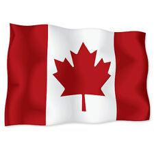 """CANADA Canadian Flag car bumper sticker decal 6"""" x 4"""""""