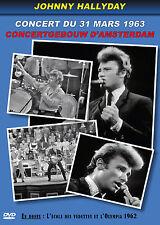 DVD Johnny Hallyday : Concert du 31 mars 1963 au Concertgebouw d'Amsterdam