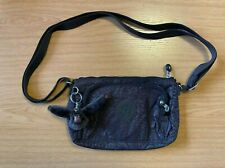 Kipling Brown Snakeskin Small Bag with Bryan Keyring