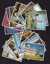 New Zealand Grain Products European Holiday Collector Cards Full Set of 20 Cards