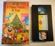 VHS IL PRIMO NATALE DI YOGI di Ray Patterson [MEDUSA]