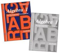 Saxon Math Algebra 1 Tests & Answer Key 3rd Edition Homeschool Packet Test Forms