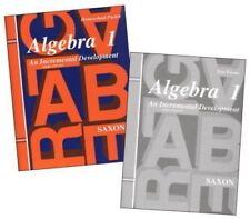 Saxon Math Algebra 1 Tests & Answer Key 3rd Edition Homeschool Packet Test Forms