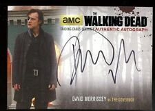 2016 Walking Dead Season 4 Part 1 Black AUTO - David Morrissey as The Governor