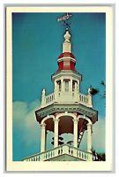 Ashfield, Mass MA Massachusetts, Town Hall Steeple, Postcard Posted 1972