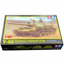 Tamiya 32598 Russian Medium Tank T55 1:48 Plastic Model Kit