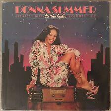 DONNA SUMMER - On The Radio: Greatest Hits V.1&2 (Vinyl 2LP) Casablanca NBLP7191