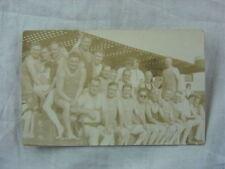 Vintage 1938 Photo Postcard Men in Swimsuits Saltair Salt Lake City Utah 811