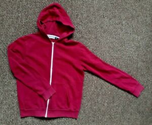 """TOPMAN Hoodie Burgundy Size S 35-38"""" Chest Pit to Pit 19"""""""