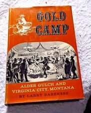 GOLD MINING CAMP MINES ALDER GULCH VIRGINIA CITY MONTANA THE STAGE LINES 1962