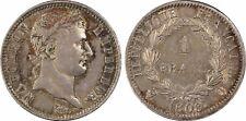 France - Napoléon 1er - Superbe 1 Franc 1808 Q - PCGS AU58 - CI
