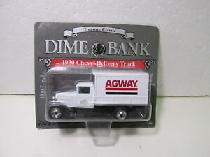 Ertl 1930 Chevrolet Agway Delivery Truck 1:43 Scale Diecast Dime Bank dc2923