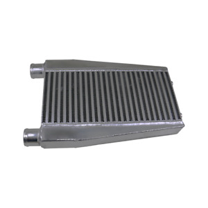 """CXRacing 2"""" Inlet/Outlet  Universal Turbo Intercooler 16.5x 8x 2 3/8 Core"""