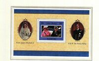 (74167) Samoa Reine Golden Wedding 1997 Mini feuille - MNH U/M Excellent état