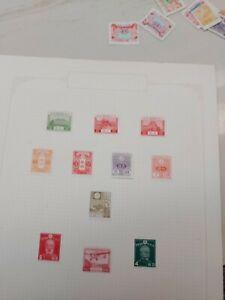 Japan stamps lot 1923