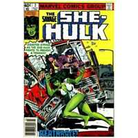 Savage She-Hulk (1980 series) #2 in Fine + condition. Marvel comics [*j4]