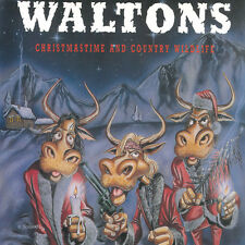 """WALTONS, THE  hristmastime and country wildlife 12"""" LP (1989 Rebel Rec.)"""