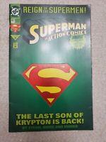 Superman In Action Comics #687 Comic Book DC Fine
