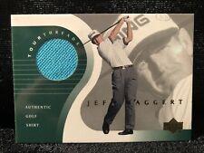 Jeff Maggert Upper Deck 2001 Tour Threads Authentic Golf Shirt Relic Card TT-JM