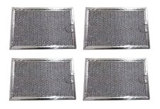 (4) Filters for Ge Wb06X10309 Advantium Jvm1490 Mesh Grease Microwave Filter