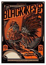 The Black Keys 2012 Poster Sydney Australia Ken Taylor Signed & Numbered #/195