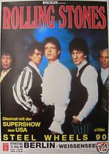 ROLLING STONES CONCERT TOUR POSTER 1990