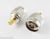 1pc N Male Plug To SMA Female Jack Straight RF Coax Connector Adapter Converter