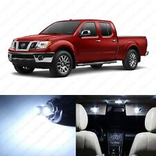 8 x White LED Interior Light Package For 2005 - 2017 Nissan Frontier + PRY TOOL