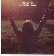 (CG274) Foxx On Fire, March Into The Sun - 2011 DJ CD