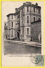 cpa 51 - SAINTE MÉNÉHOULD (Marne) La PRISON Cellulaire Pénitentier Bagne Jail