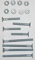 New Mounting bolt Kit for Quad Roller Skates includes 4 short, 4 long,8 Nuts (H)