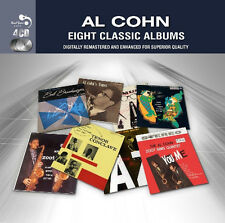Al Cohn EIGHT CLASSIC ALBUMS Tenor Conclave MR MUSIC And Zoot NEW SEALED 4 CD