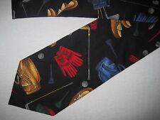 Mens Golf Cotton Print Tie Necktie Tango (3605) ~ FREE US SHIP