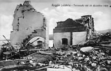Photo 1908 Earthquake Reggio Calabria Italy