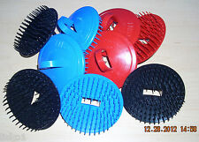 Century #100 Shampoo Scalp Massage Hair Brush  3-RED 3-BLUE 3-BLK