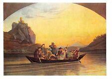 BF39014  uberfraht uber  die elbe adrian ludwig  richter painting  art postcard