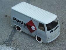 PUB POCLAIN BOURBON  1/43 Made in France Peugeot J7 objet publicitaire Publicity