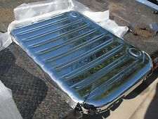 1961-1964 chevy impala chrome trunk pan cover convertible 62 63 64 ht 4dr 2dr ss