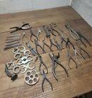 K174- Antique Jeweler's Watchmaker Tools Lot - Pliers & Specialty Tools