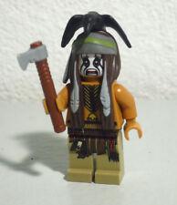 Tonto crow The Lone Ranger 79109 79107 79111 79108 30261 Lego Minifigure Figure