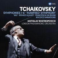 Mstislav Rostropovic - Symphonies 1-6 / Manfred Symphony / Francesca Da [New CD]