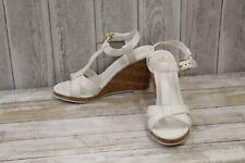 Cole Haan Ayla Wedge II Sandals - Women's Size 10 B, White