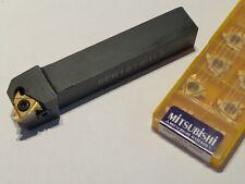 Tool Holder 16mm Amp 10 Pcs Mitsubishi Carbide 38 Threading Inserts 16er Ue6020
